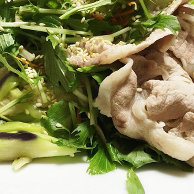 ■ 豚しゃぶサラダ