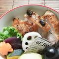 鶏もも肉のプルーン味噌inジンジャー