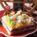 雛祭りのケーキ寿司