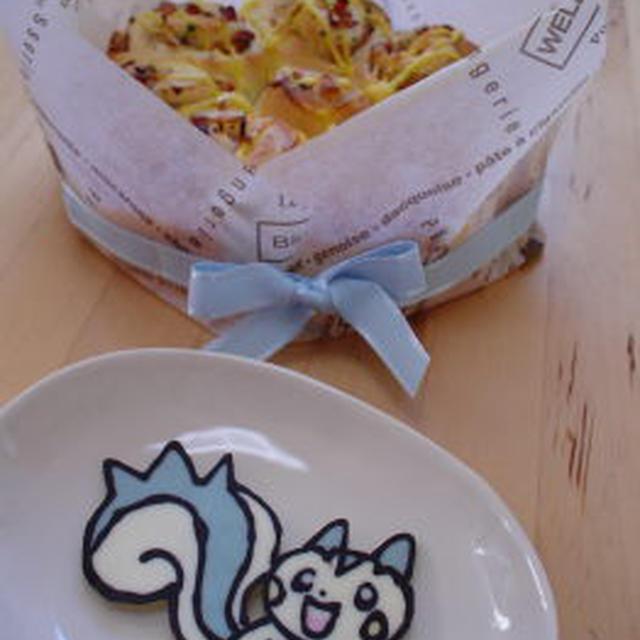 渦巻きパン&キャラチョコ