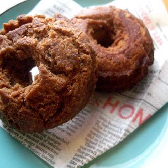 型なしで作れるドーナツ(オールドファッション・チョコ)