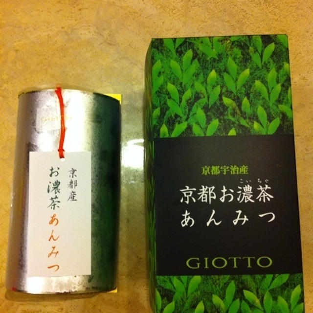 GIOTTOの抹茶ロールケーキ