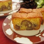 栗の渋皮煮パウンドケーキ