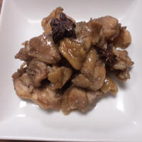 ワンプレートと鶏の照り煮