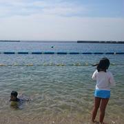 須磨海水浴場へお出かけー!