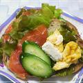 ☆サーモン&クリームチーズ・サンドイッチ☆