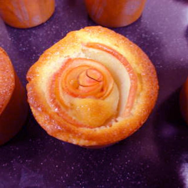 ホットケーキミックスで作るリンゴバラマフィン