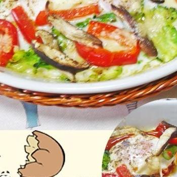 リニューアルしたレシピ その12 R#025 具たくさんのイタリア式目玉焼き