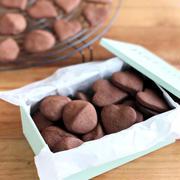 サックサク♪オーブントースターで、ココアクッキー