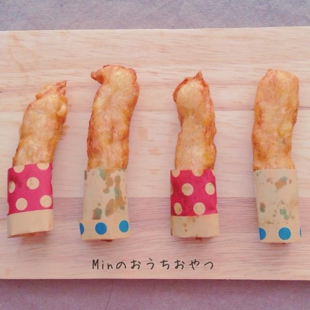材料3つ‼︎超簡単♪バナナドーナツ