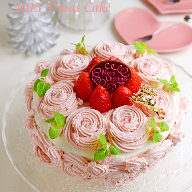 2015 クリスマスケーキ