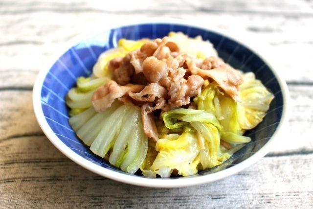 豚バラ白菜のうま煮
