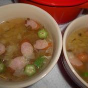 野菜たっぷりおかずスープ