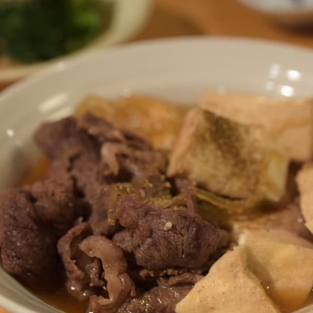 木綿豆腐多め。煮るだけ肉豆腐 牡蠣好き必見!3.11(土)@汐留 牡蠣開けレッスン付きオイスターパーティーのご案内