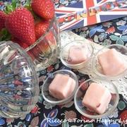 Strawberry Fudge♪イギリスのお菓子ファッジ☆ Festa della Mamma