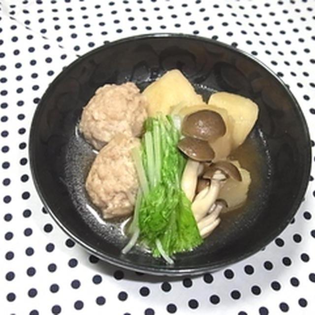 ★鶏つくねと長芋の旨煮★