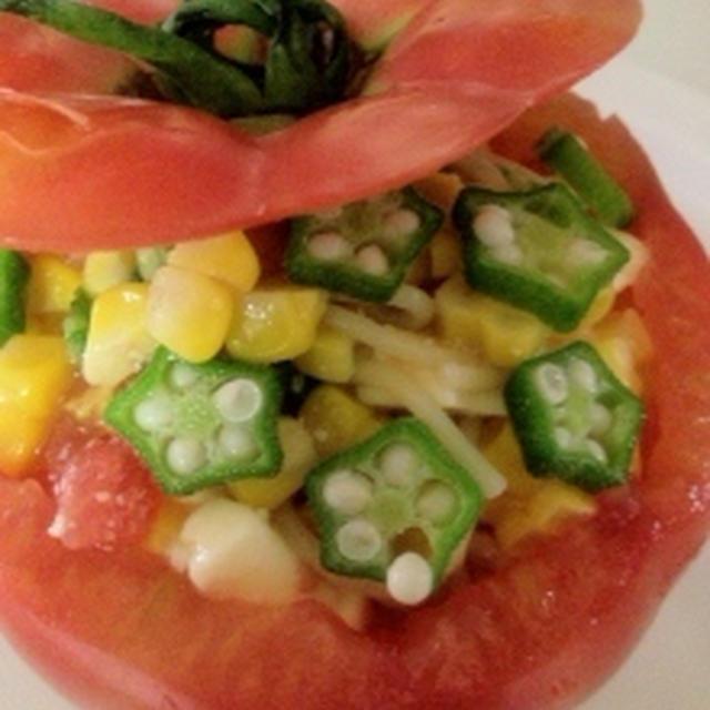 夏野菜とトマトカップの夏パスター パーティーメニューにもOK!