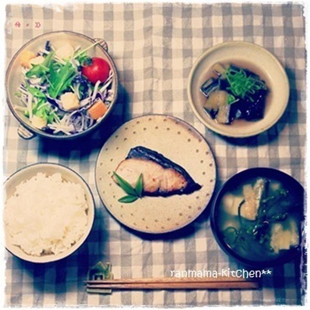 いつかの夕ご飯