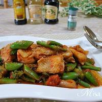 チキンと春野菜のトマト煮