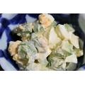 ≪アボカドと ゆで卵の マヨネーズサラダ≫
