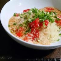 木登り!? と、トマとろ冷麺のお昼ご飯♪ #マルちゃん #冷麺 #冷やし中華