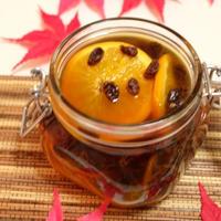 生姜でポッカポカ♪♪『生姜•オレンジ•レーズン•ハチミツのフルーツブランデー』