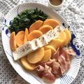 食べたら白和え^o^ 太秋と早秋で「白あえ風 コブサラダ」。