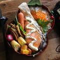 ※動画追記!【お弁当】今が旬!鮭の塩焼きとイクラのお弁当