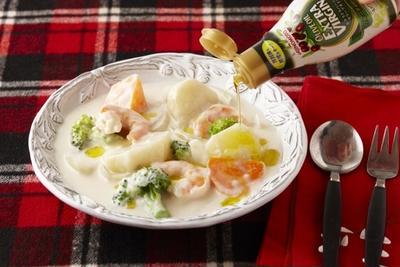 食卓で手軽にひとかけ!オリーブオイルメニュー(12月recipe)