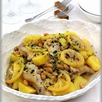【GABANスパイス】鶏肉とさつまいものレモンバター煮