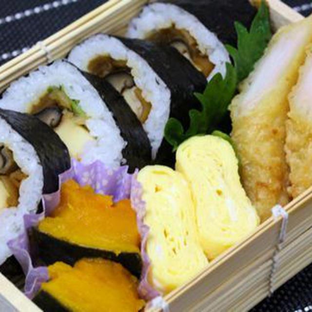 12/23 巻き寿司弁当