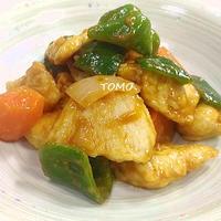 節約料理♪鶏胸肉の酢鶏
