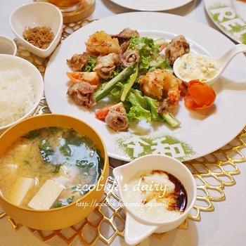 祝!令和のおうちご飯/Dinner for Celebrating New Imperial Era, REIWA