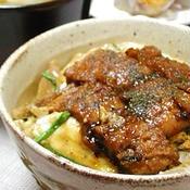 鰻の柳川丼