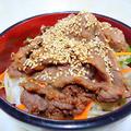 """ボリューム満点でガッツリ食おう! """" 韓国風焼肉丼 """""""