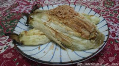 グリルにおまかせ~焼きナス~【野菜の副菜】