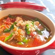 冷える夜に!すぐできる「豚肉と野菜のおかずスープ」のバリエーション