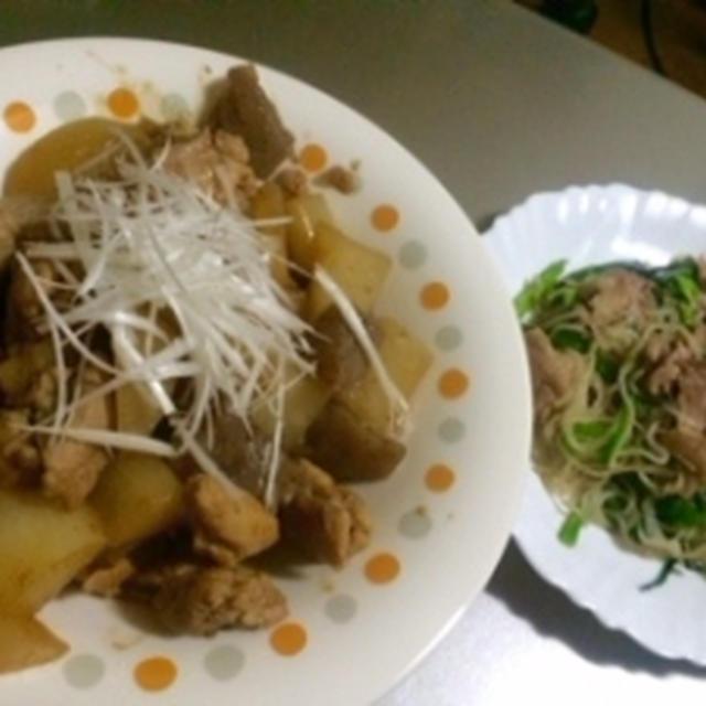 便秘解消♪大根と鶏肉の中華煮