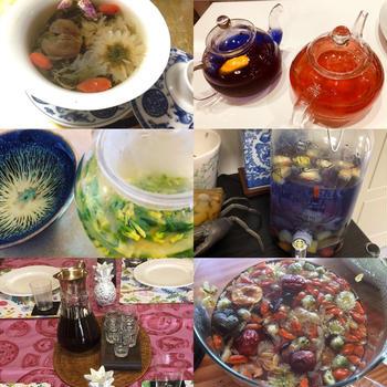 7月29日薬膳茶と薬膳スイーツ特別レッスン