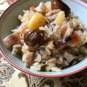 特別な調味料がなくても簡単&美味しい「炊飯器で炊く潤い中華おこわ」