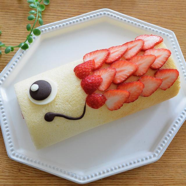こいのぼりロールケーキ