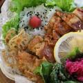 【お弁当】おしゃれなカフェのデリ風チキン南蛮弁当 by Nigiricco*さん