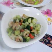 エビと野菜の炒め物★★★
