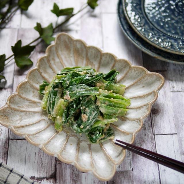 【料理の基本】山菜シリーズ うるい編 ヤミツキ!間違いなし!【うるいの味噌うめマヨ和え】