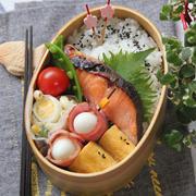 【動画追記!】鮭の塩麹焼き弁当
