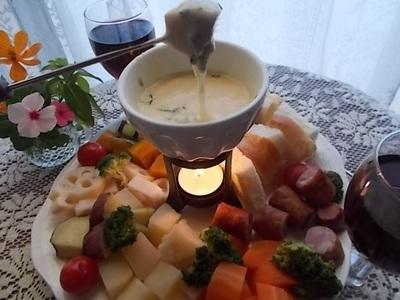 ハーブの香り~コンテのチーズフォンデュ