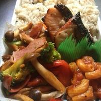 鮭弁と鯖弁♫
