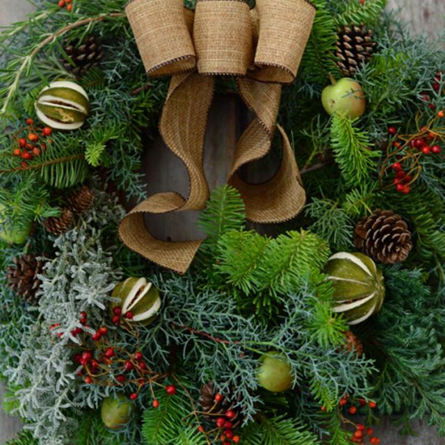11月28日 土曜日 2015Christmas wreath
