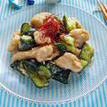 鶏胸肉とたたききゅうりのごま味噌ナムル【レンジで簡単キュウリ消費にも】|レシピ・作り方
