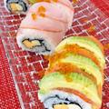 アメリカ発祥の逆輸入寿司♪ドラゴンロール
